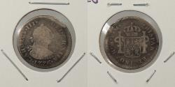 World Coins - MEXICO: 1776-Mo FM Charles IV 1/2 Real
