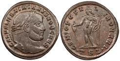Ancient Coins - Galerius, as Caesar 293-305 A.D. Follis Thessalonica Mint Good VF