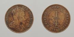 World Coins - CYPRUS: 1905 1/4 Piastre