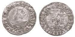 World Coins - FRANCE Besançon Charles V, as Holy Roman Emperor 1530-1556 2 Blanc (Karolus) 1537 VF