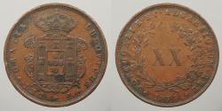 World Coins - PORTUGAL: 1873 20 Reis