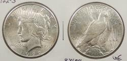 Us Coins - 1922 S Peace 1 Dollar (Silver)