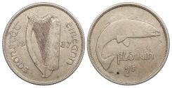 World Coins - IRELAND 1937 Florin Good VF