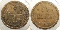 World Coins - CUBA: Santiago 1897 1 Centavo token