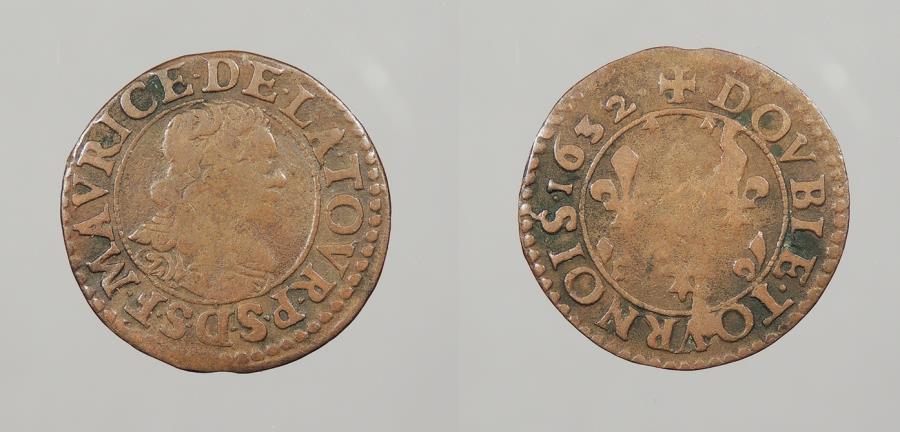 World Coins - FRANCE: Bouillon & Sedan 1632 Double Tournois