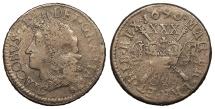 World Coins - IRELAND James II 1690 July Halfcrown VF