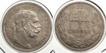 World Coins - HUNGARY: 1915-KB Korona
