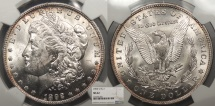 Us Coins - 1892 O Morgan 1 Dollar (Silver) NGC MS-62