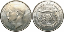 World Coins - LUXEMBOURG: 1964 100 Francs