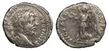 Ancient Coins - Septimius Severus 193-211 A.D. Denarius Rome Mint Near VF