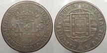 World Coins - BRAZIL: 1822-R 40 Reis