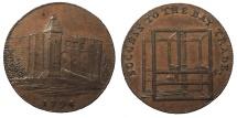 World Coins - GREAT BRITAIN Essex Colchester Charles Heath. 1794 AE Halfpenny Token Choice AU