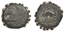 Ancient Coins - Seleukid Kings Demetrios I 162-150 BC AE16 Fine