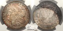 Us Coins - 1878 S Morgan 1 Dollar (Silver) NGC MS-64