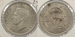 World Coins - GREAT BRITAIN: 1943 Florin