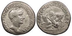 Ancient Coins - Cilicia Tarsos Hadrian 117-138 A.D. Tridrachm Good Fine