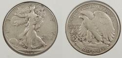 Us Coins - 1938-D Walking Liberty 50 Cents (Half Dollar)