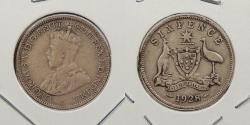 World Coins - AUSTRALIA: 1928 Sixpence