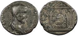 Ancient Coins - Pamphylia Perga Trebonianus Gallus 251-253 A.D. AE21 VF