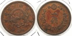 World Coins - JAPAN: 1877 1 Sen