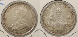 World Coins - AUSTRALIA: 1936 George V Florin