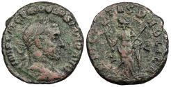 Ancient Coins - Volusian 251-253 A.D. As Antioch Mint VF