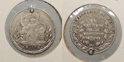 World Coins - BOLIVIA: 1854 Proclamation coin