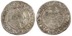 World Coins - AUSTRIA Ferdinand I, as archduke 1521-1564 Kreuzer (Groschen) 1549 EF