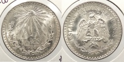 World Coins - MEXICO: 1938-M Peso