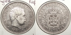 World Coins - INDIA: Portuguese 1904 Rupia