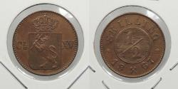 World Coins - NORWAY: 1867 1/2 Skilling