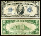 Us Coins - 1934-A 10 Dollars F/VF