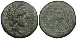 Ancient Coins - Islands off Caria Rhodes Late 1st to early 2nd Centuries A.D. AE19 Good Fine