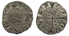 World Coins - SPAIN Catalonia (Catalunya) Barcelona Pedro III 1387-1396 Dinero EF