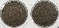 Us Coins - 1819 Matron Head 1 Cent
