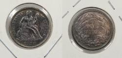 Us Coins - 1890 Seated Liberty 10 Cents (Dime)