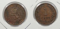 World Coins - NETHERLANDS: 1892 Cent