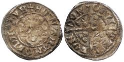 World Coins - ENGLAND   Edward I 1272-1307 Penny 1279-1307  Fine