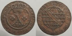 World Coins - BRAZIL: 1799 10 Reis