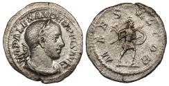 Ancient Coins - Severus Alexander 222-235 A.D. Denarius Rome Mint VF