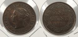 World Coins - CANADA: 1897 Victoria Cent