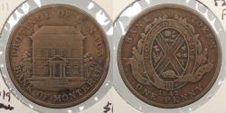 World Coins - CANADA: Lower Canada 1842 Penny Token