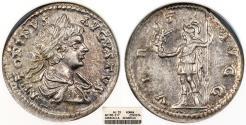 Ancient Coins - Caracalla 198-217 A.D. Denarius Rome Mint ANACS AU
