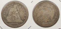 Us Coins - 1878 Seated Liberty 25 Cents (Quarter)