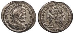 Ancient Coins - Constantine I 307-337 A.D. Follis Trier Mint EF