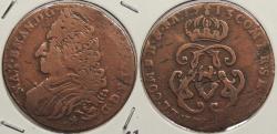 World Coins - SPANISH NETHERLANDS: Namur 1713 Liard