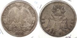 World Coins - MEXICO: 1870-Oa E Peso