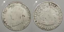 World Coins - BOLIVIA: 1854-Potosi MJ 4 Soles