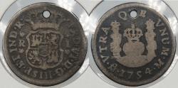 World Coins - MEXICO: 1754-Mo M Ferdinand VI Real