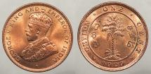 World Coins - CEYLON: 1929 Cent